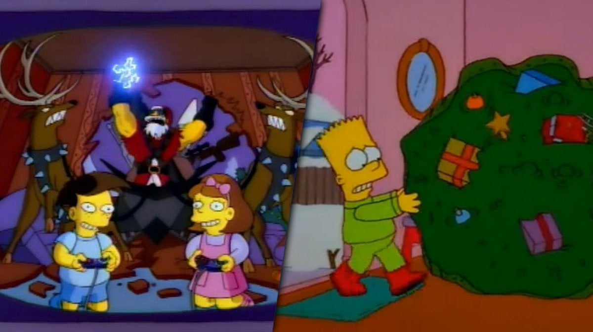 simpsons best christmas episodes