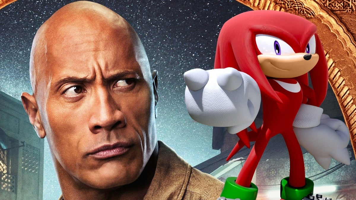 Sonic the Hedgehog Sequel The Rock