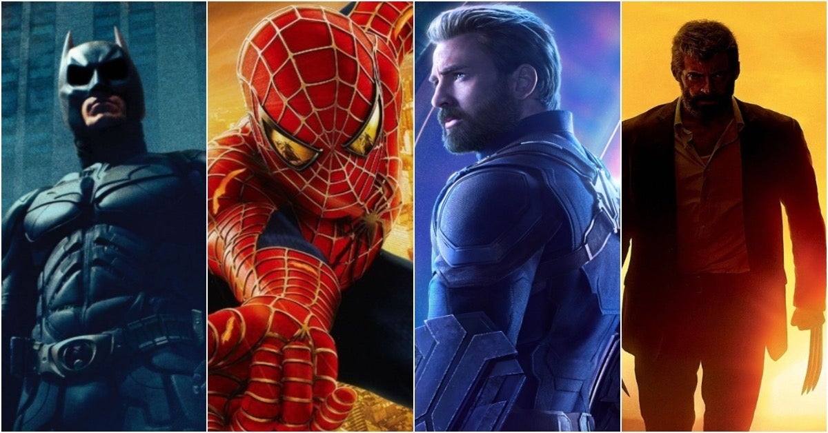 Spider-Man 2 Dark Knight Avengers Infinity War Logan
