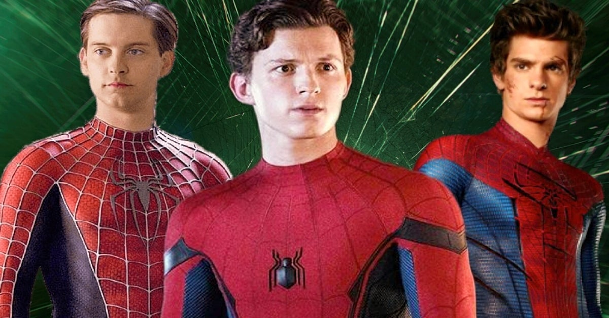 Spider-Man 3 Tom Holland Tobey Maguire Andrew Garfield COMICBOOKCOM