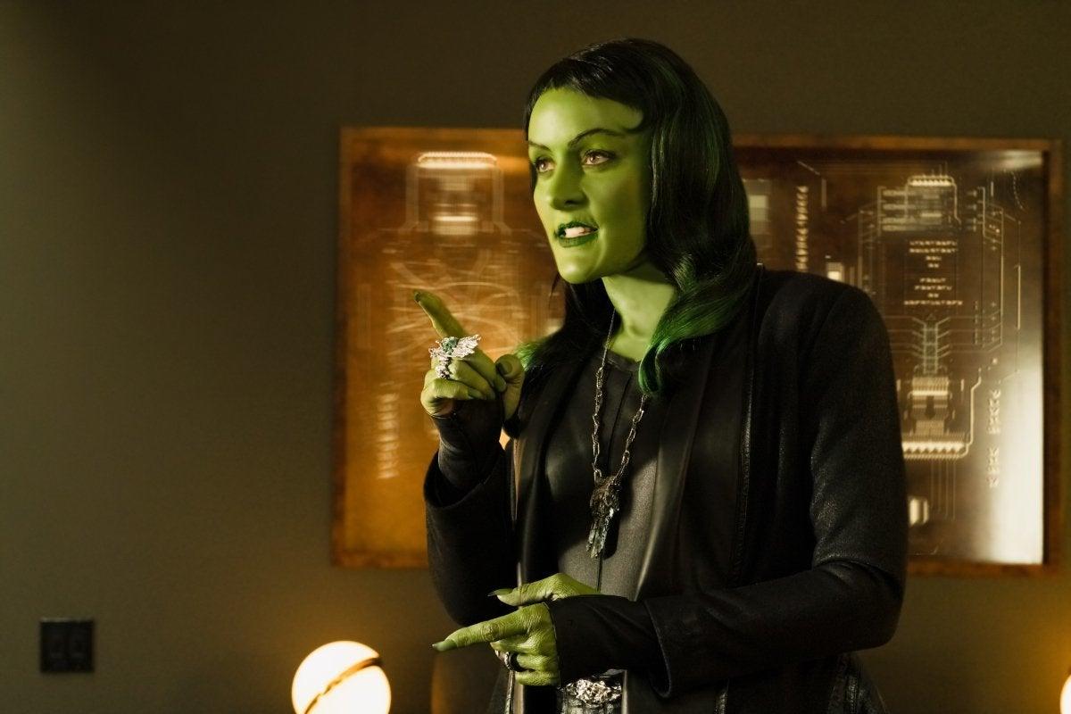 Janet Kidder as Osyraa in Star Trek Discovery