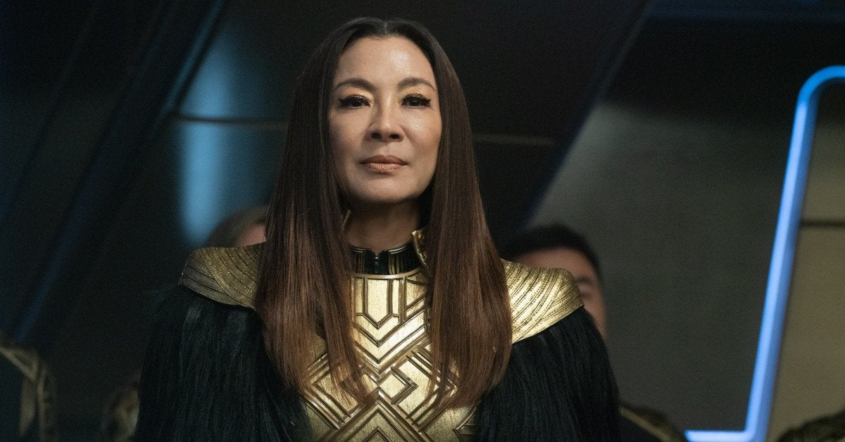 Star Trek Discovery Philippa Georgiou Michelle Yeoh Exit Section 31 Spinofff