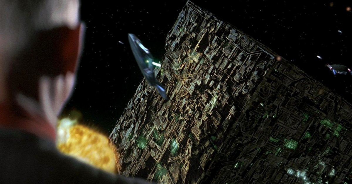 star trek first contact borg ship