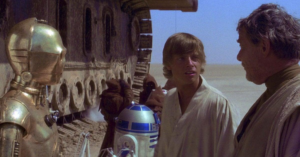 star wars a new hope luke skywalker tosche station