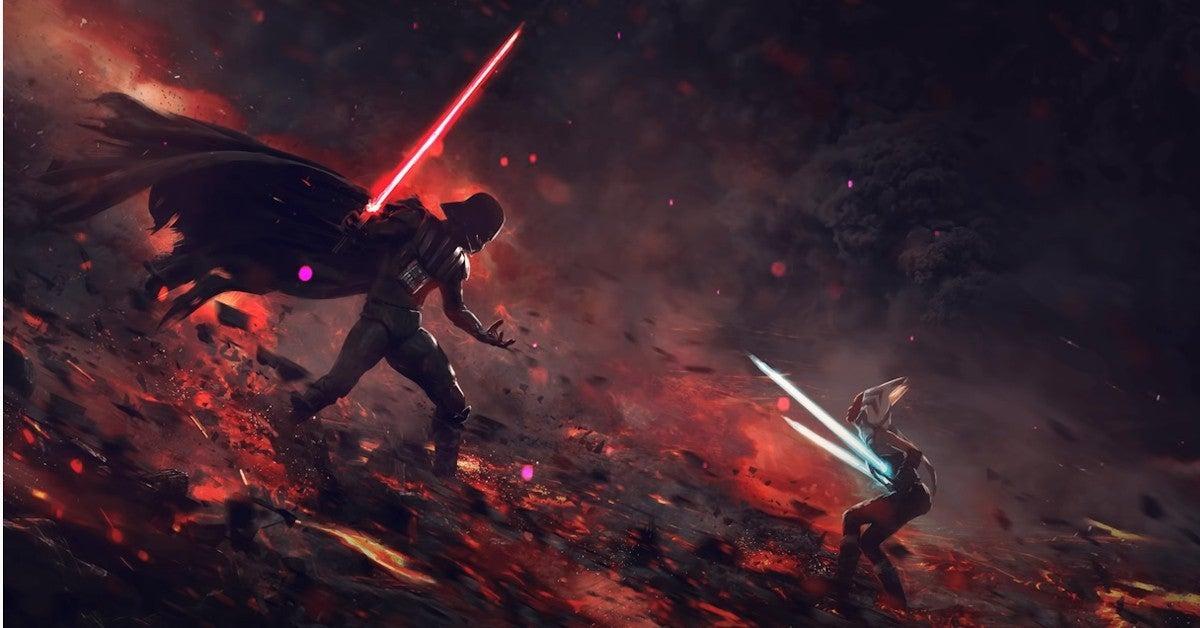 Star Wars Ahsoka Tano Video Game Vader Duel
