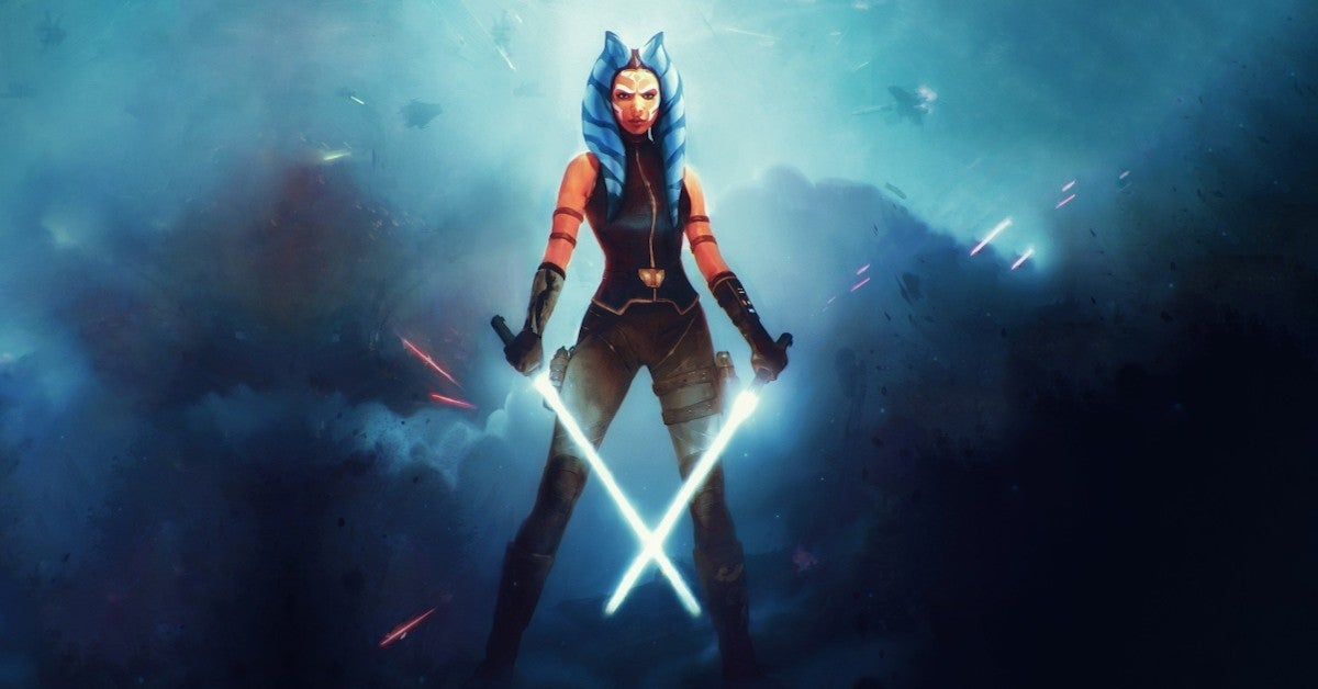 Star Wars Ahsoka Tano Video Game Wallpaper Art by wojtekfus