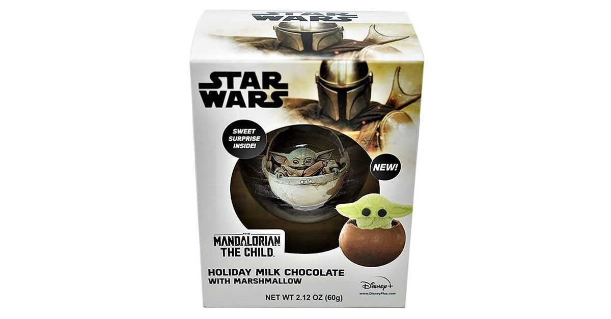 star wars baby yoda hot chocolate melt