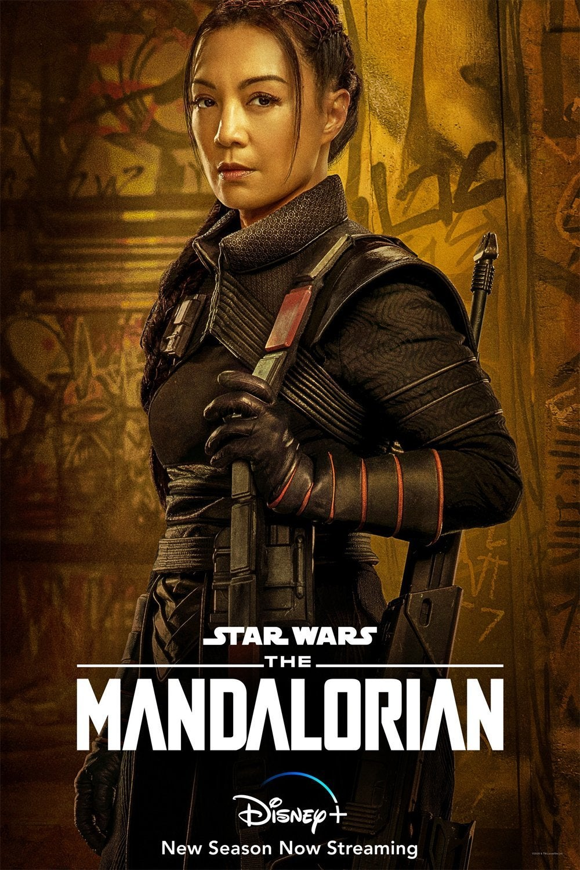 star wars mandalorian fennec shand ming-na wen
