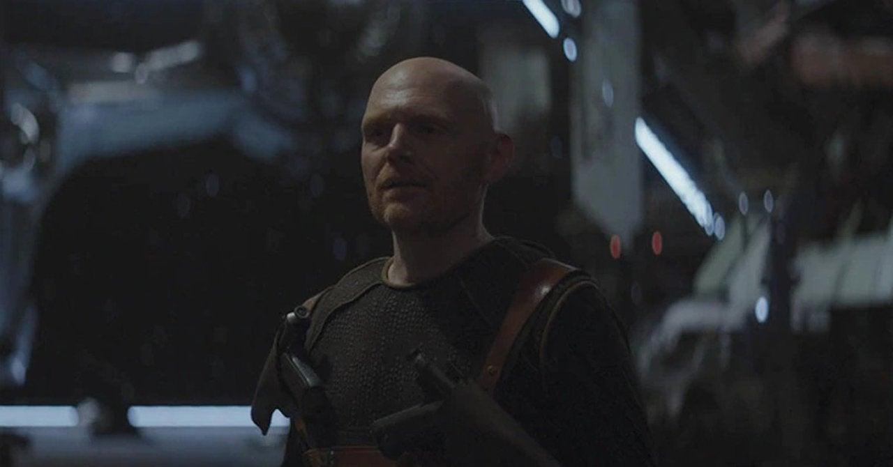 The Mandalorian Star Bill Burr Has Hilarious Reaction to ...