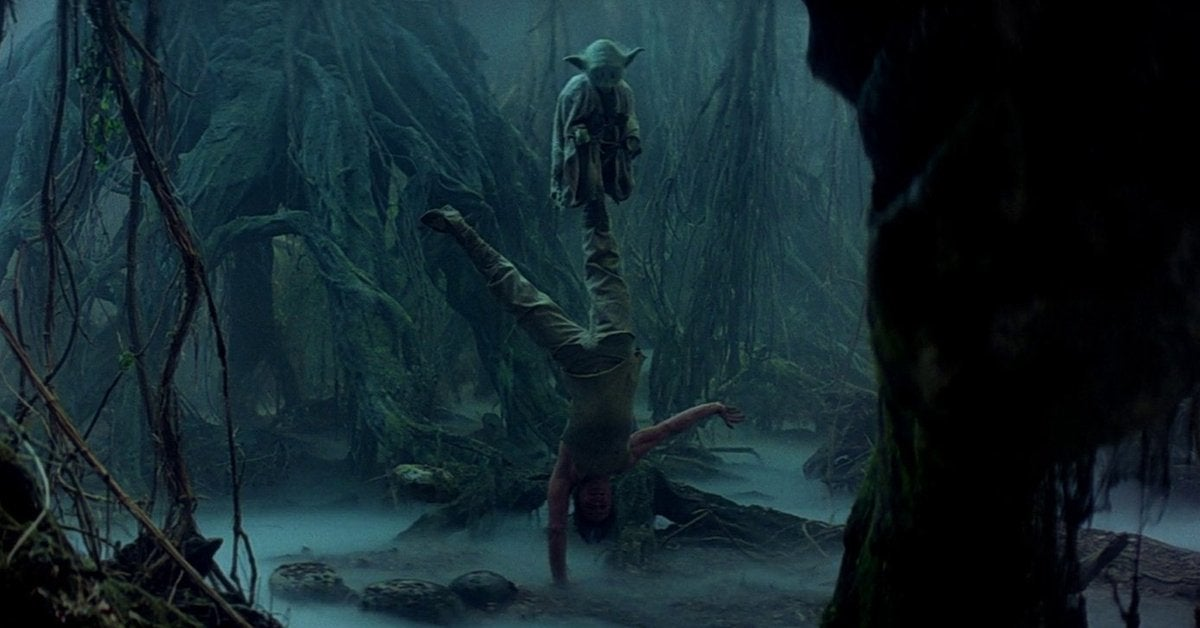 star wars the empire strikes back yoda luke dagobah training