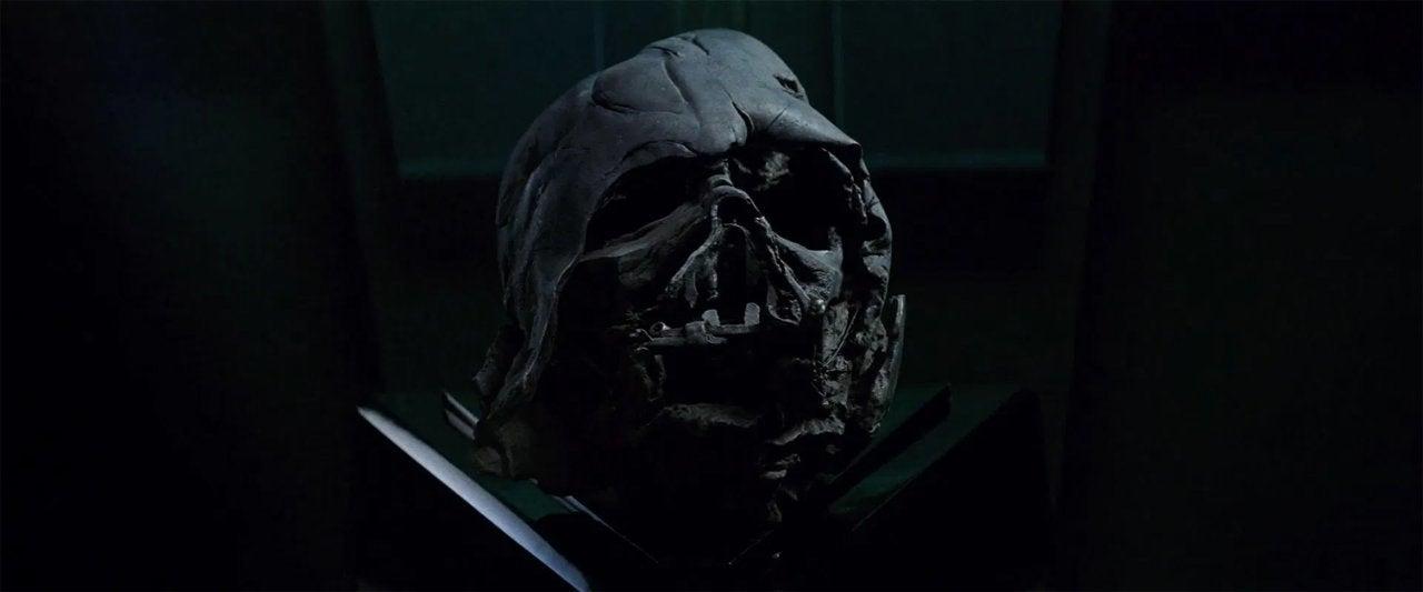star wars the force awakens 2015 darth vader helmet