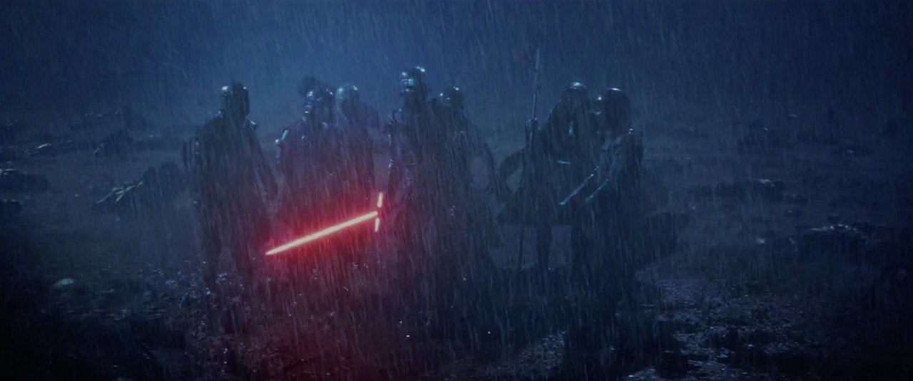 star wars the force awakens 2015 knights of ren