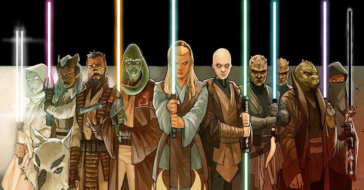 Star Wars The High Republic New Jedi Characters Explained Spoilers