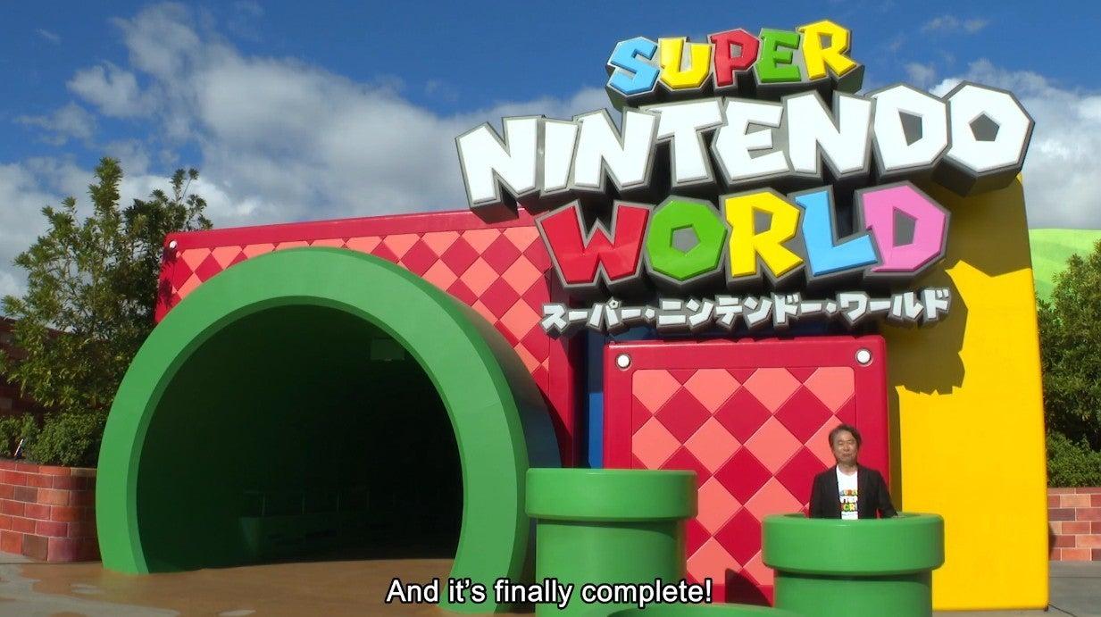 Super Nintendo World #1