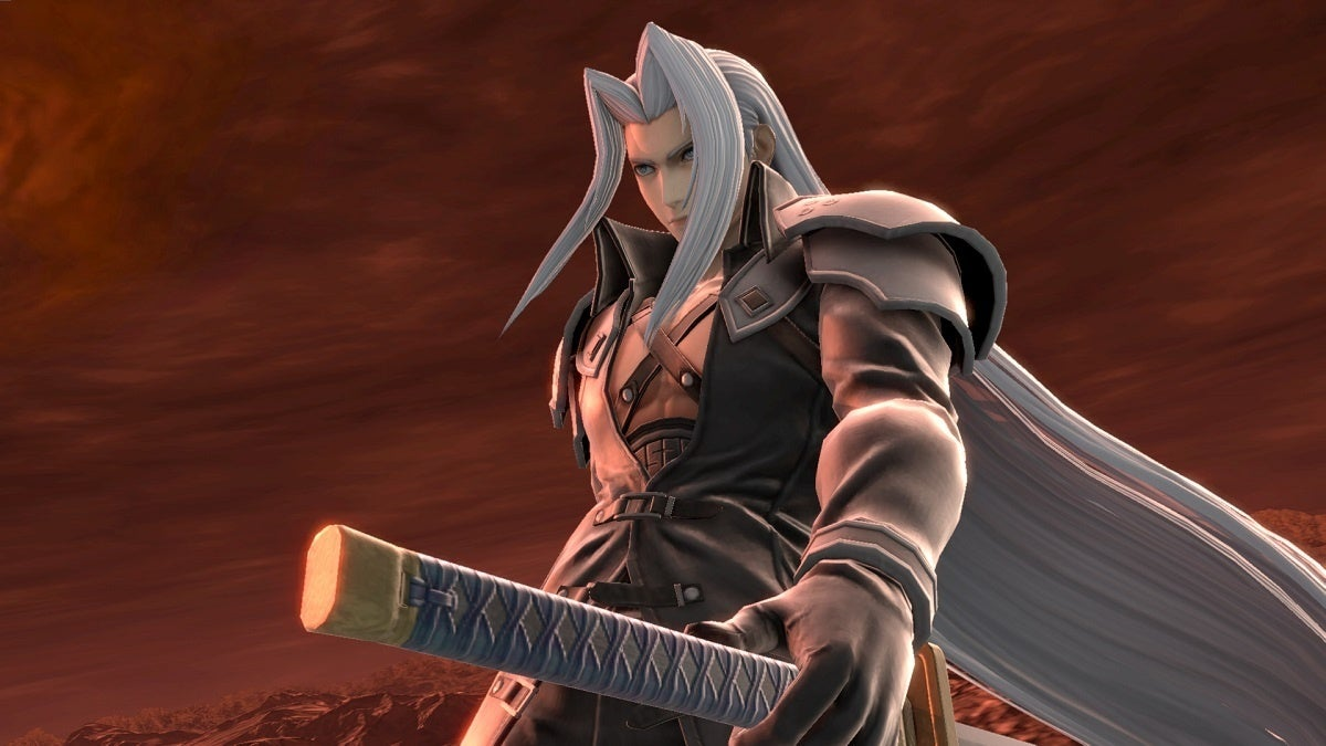 Super Smash Bros Ultimate Sephiroth