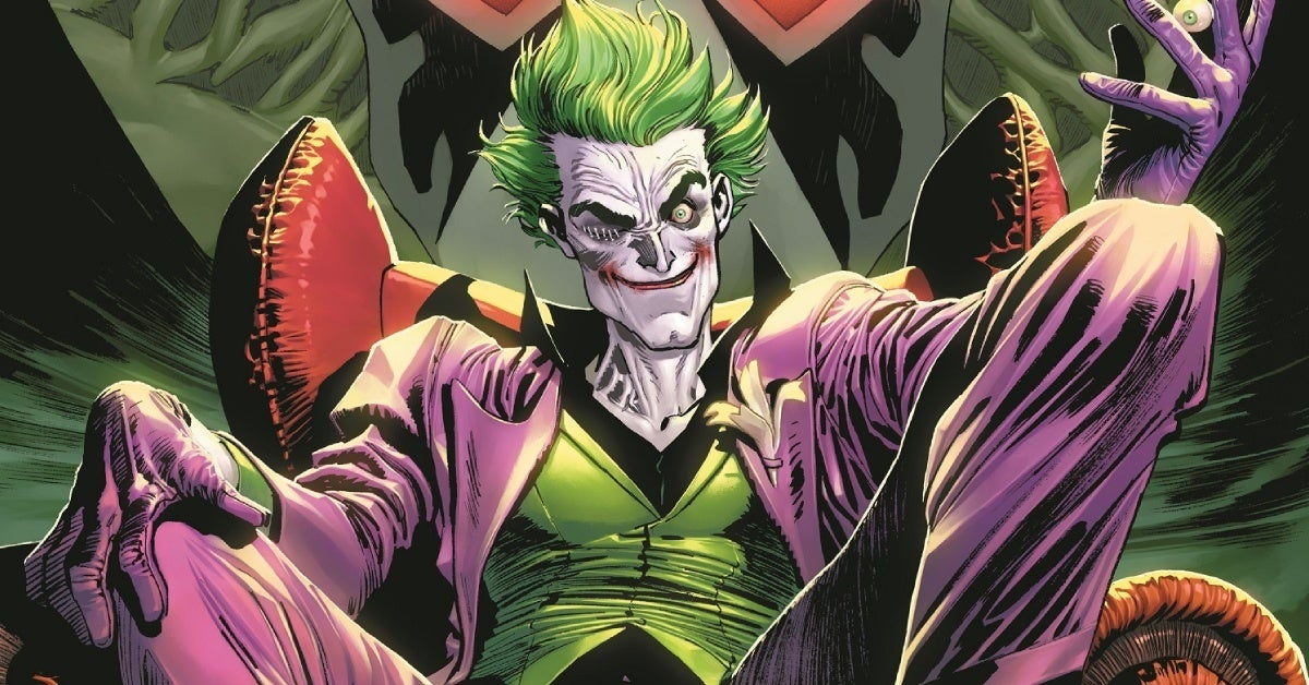 the joker dc comics 2021