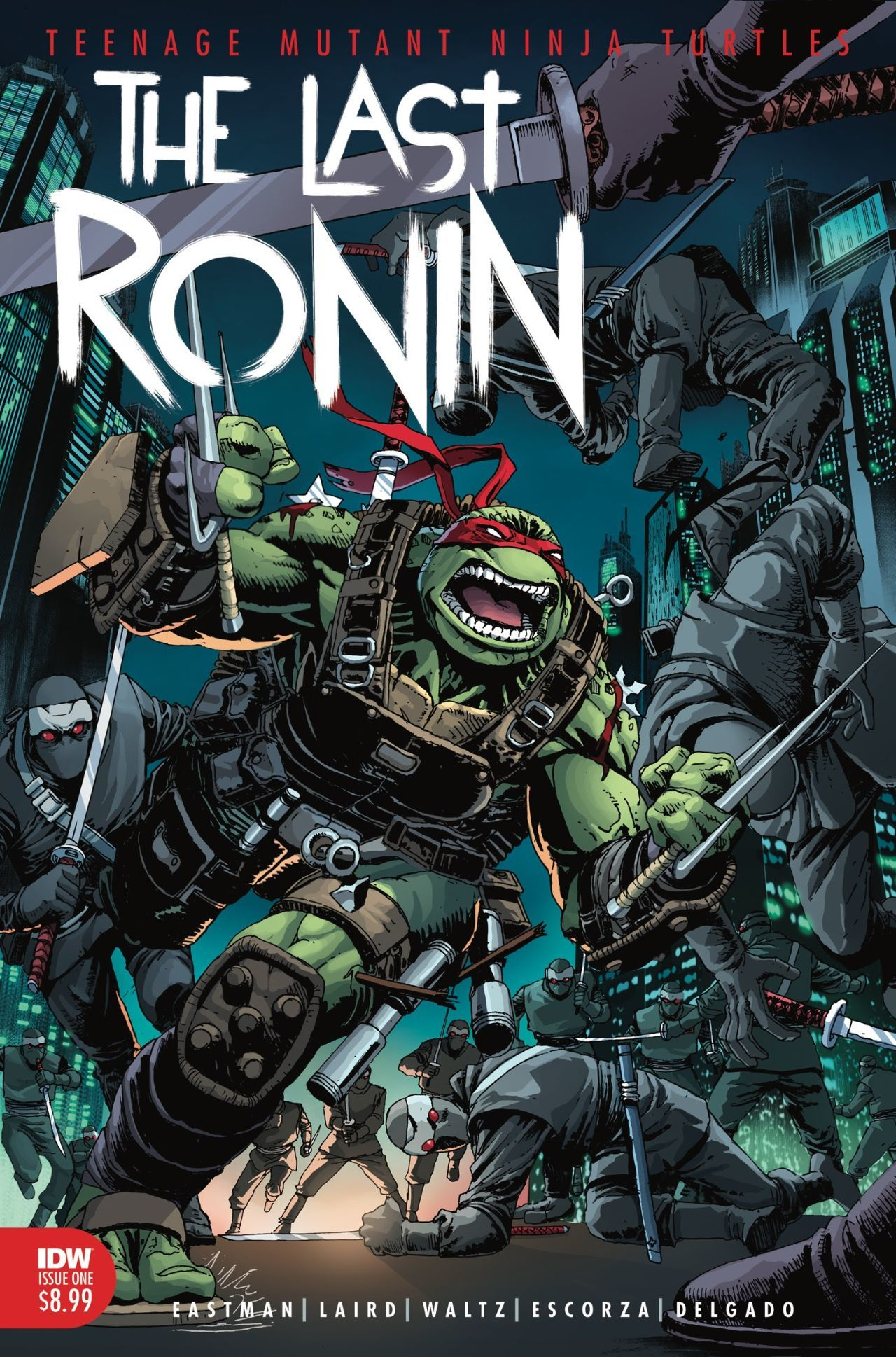 Eastman e Laird's Teenage Mutant Ninja Turtles: The Last Ronin terá uma segunda tiragem 1