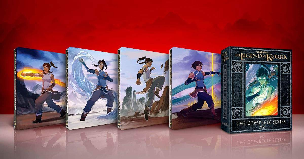 The Legend of Korra Steelbook Collection