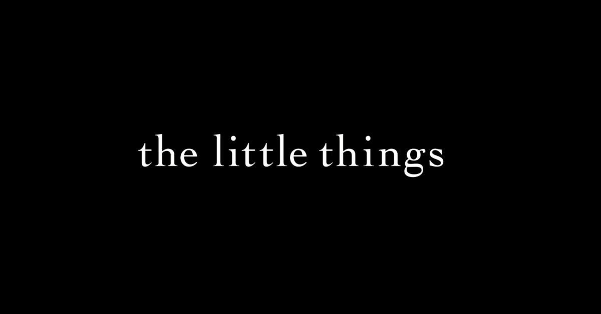 the little things movie logo 2021
