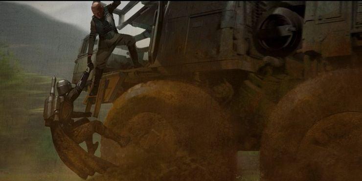 The-Mandalorian-Concept-Art-Din-Djarin-Juggernaut-Mayfeld