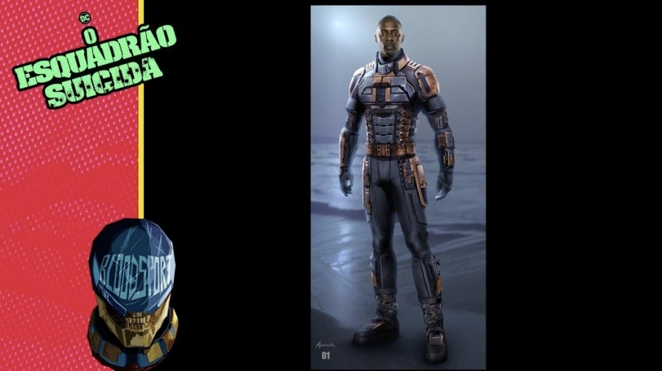 The Suicide Squad Bloodsport Idris Elba
