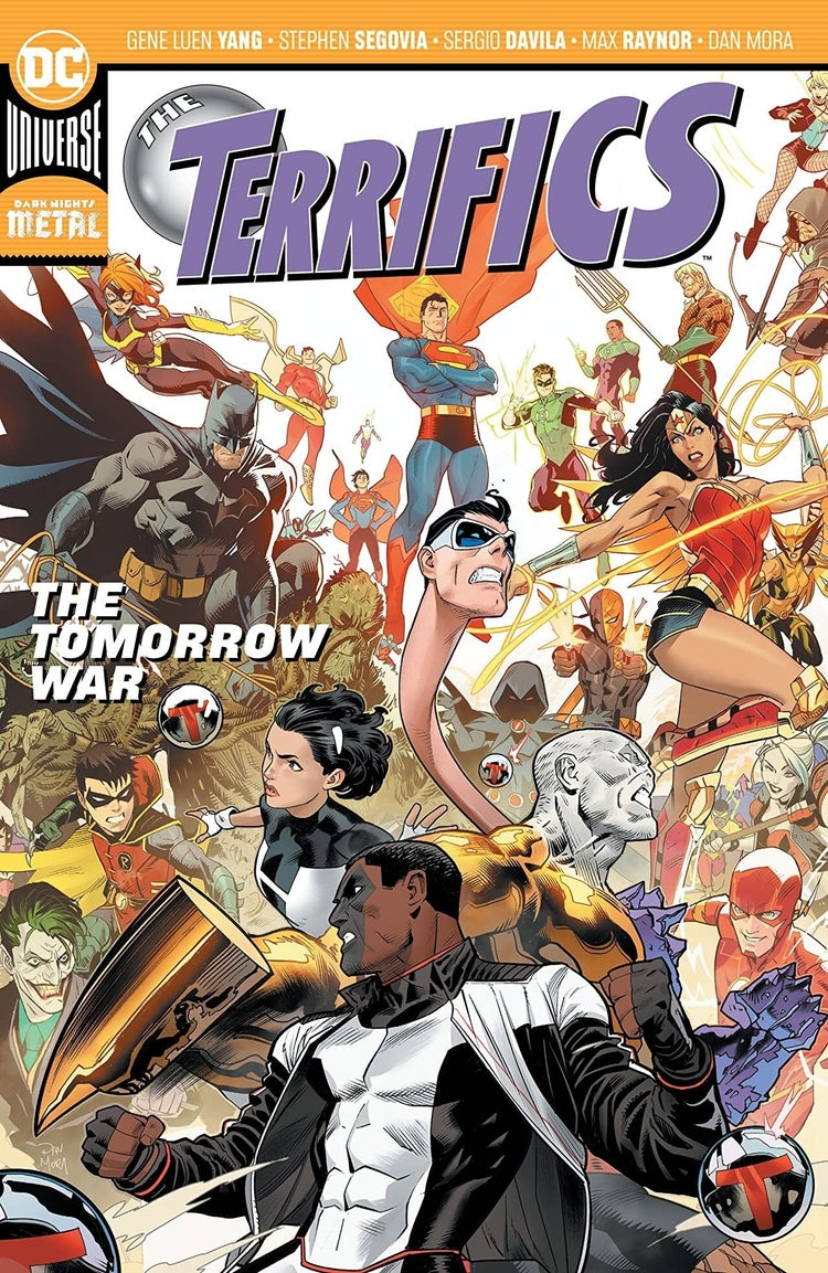 The Terrifics The Tomorrow War Vol 4