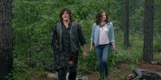 The Walking Dead Daryl Maggie Norman Reedus Lauren Cohan