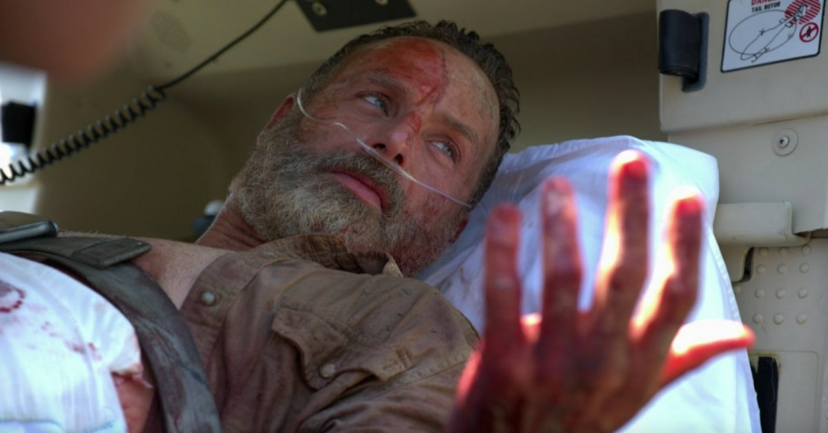 The Walking Dead Movie Rick Grimes Andrew Lincoln