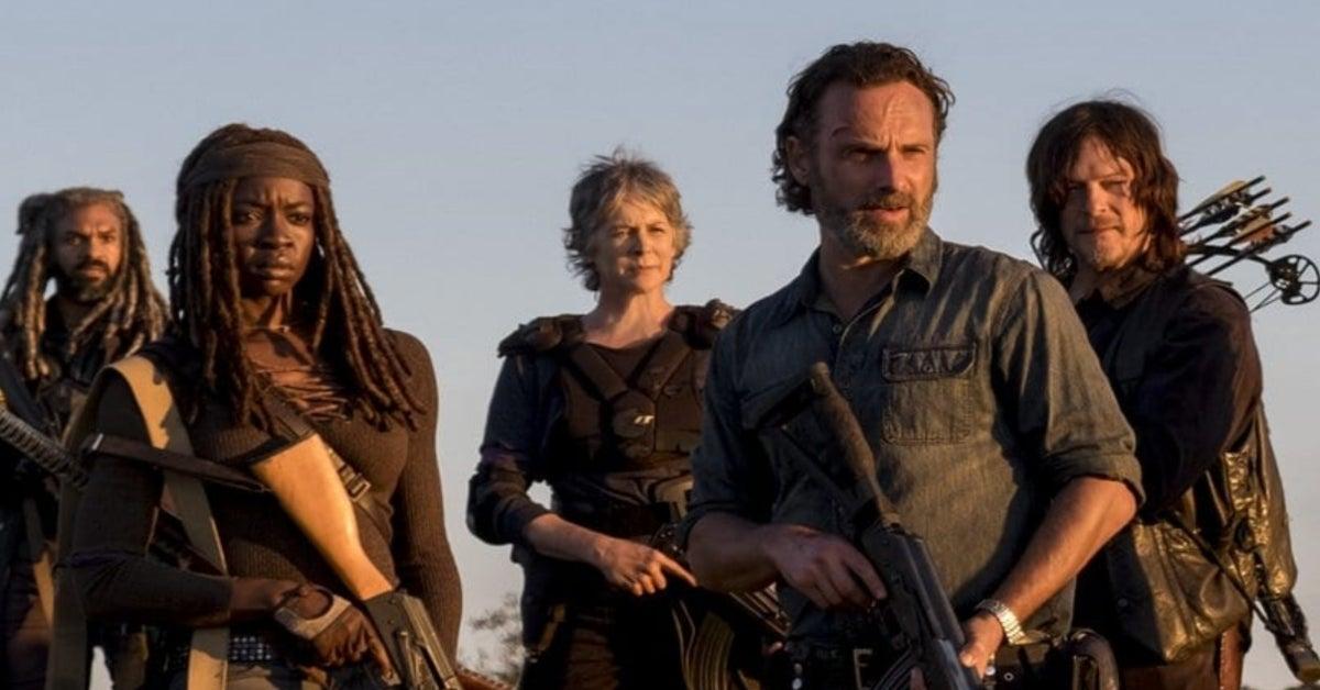 The Walking Dead Rick Grimes Andrew Lincoln Danai Gurira Norman Reedus