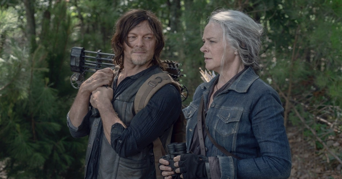 The Walking Dead Season 10 Daryl Carol
