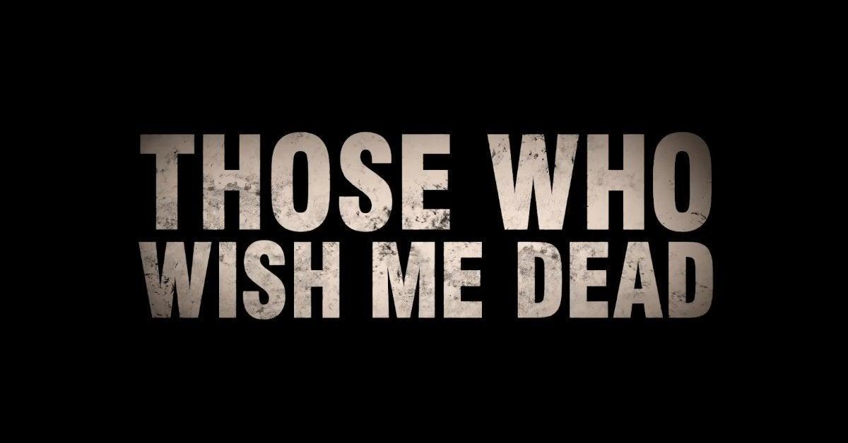 those who wish me dead movie logo 2021