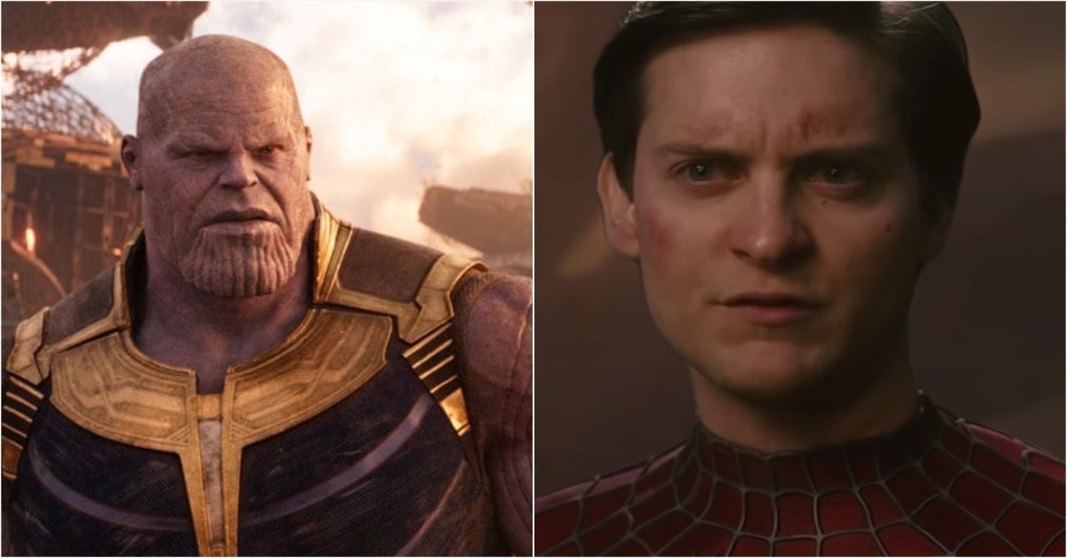 Tobey Maguire Spider-Man Thanos