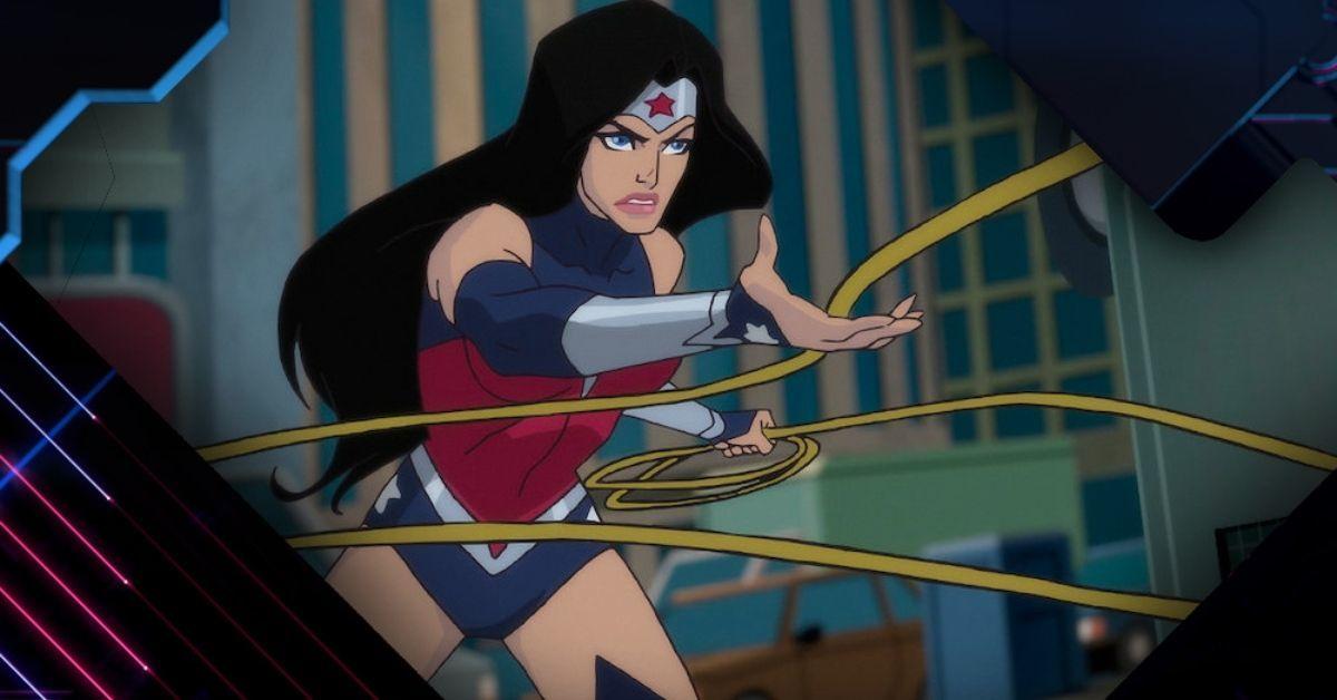 Toonami Wonder Woman 1984 DC Animated Movie Return