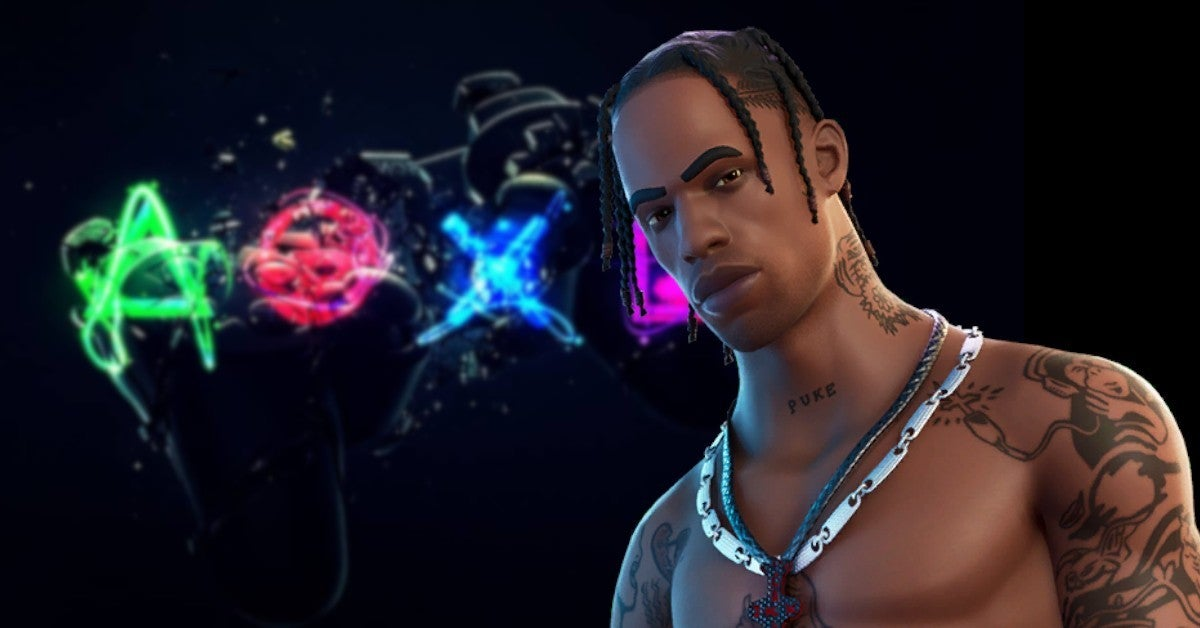 Travis Scott PS5 Game Console Sony Deal Partnership