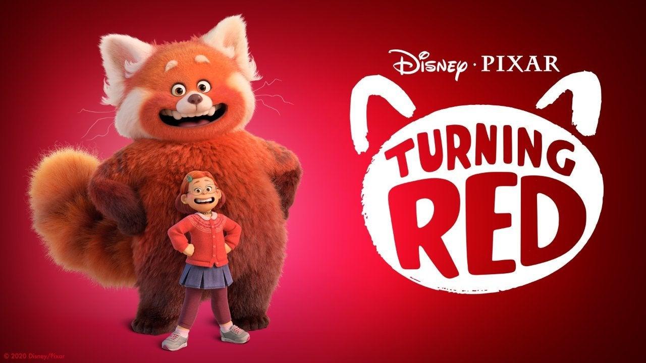 turning red movie pixar disney