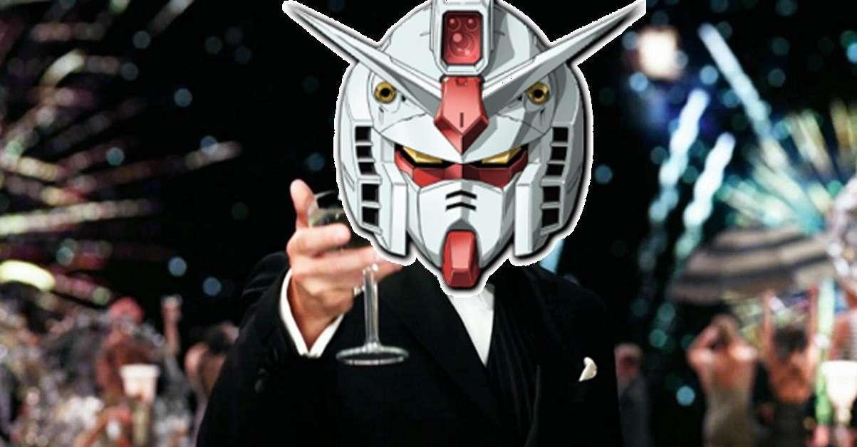 Walking Gundam New Years