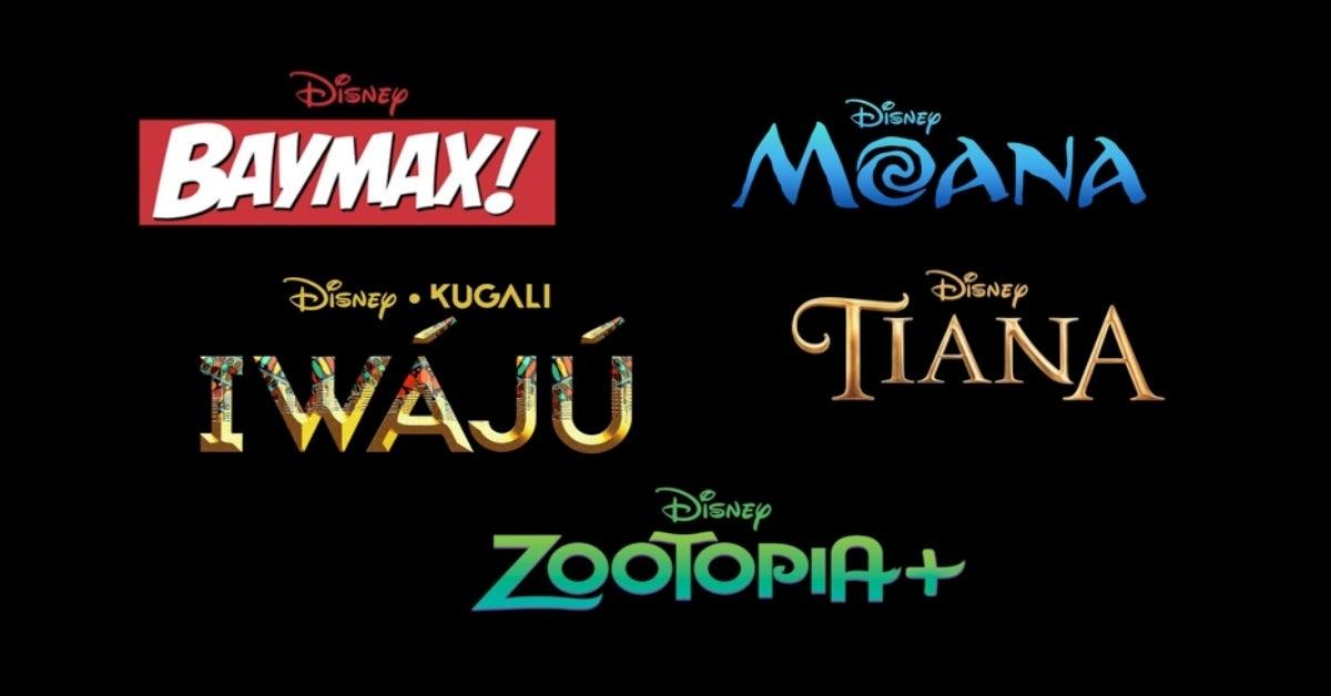 Walt Disney Animation Studios shows Disney+