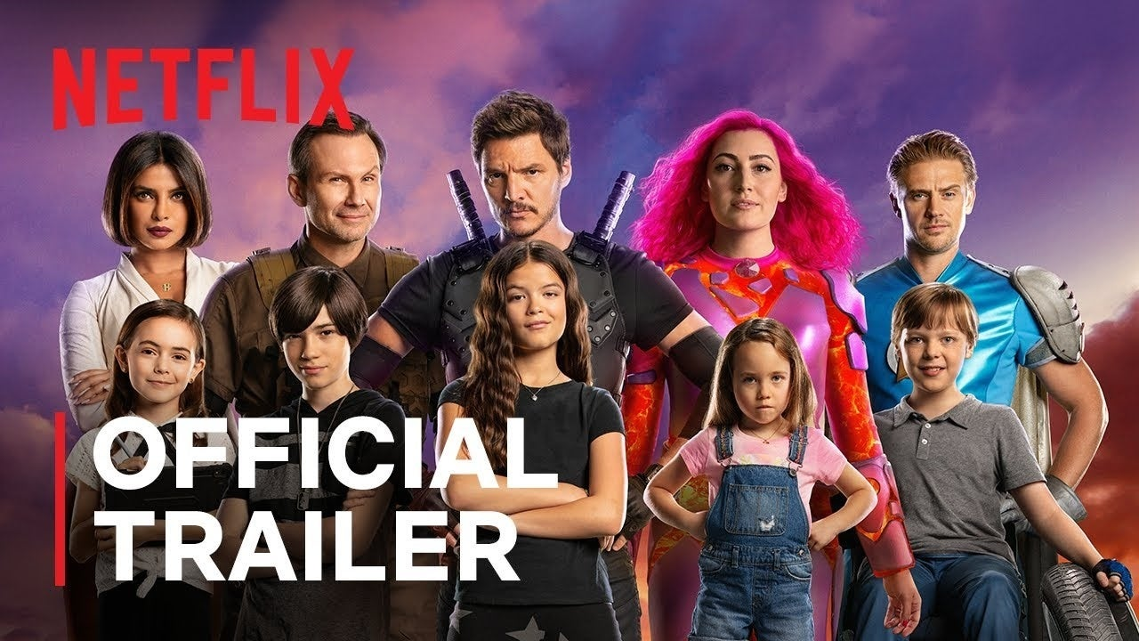 we can be heroes netflix trailer