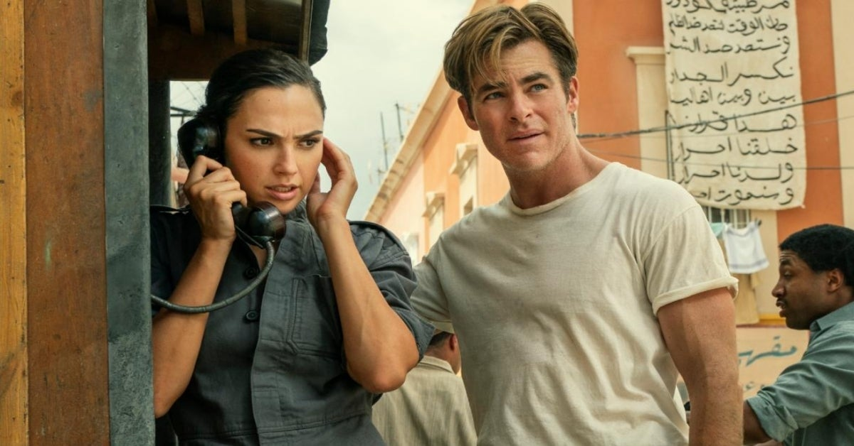 Wonder Woman 1984 Gal Gadot Chris Pine Steve Trevor