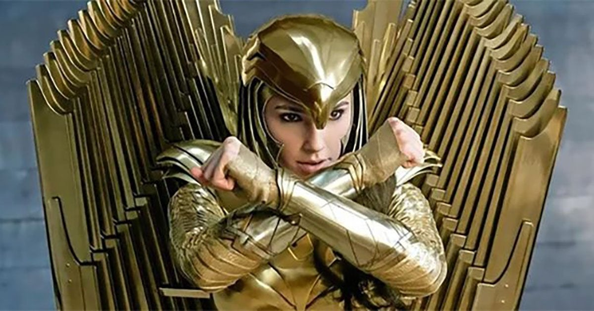 wonder woman 1984 golden eagle armor