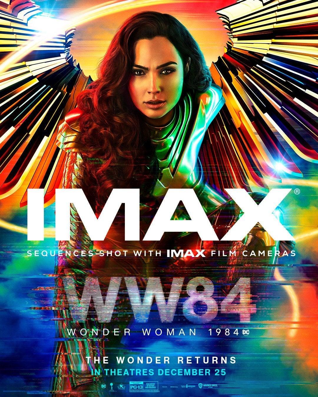 wonder woman 1984 imax poster gal gadot 1