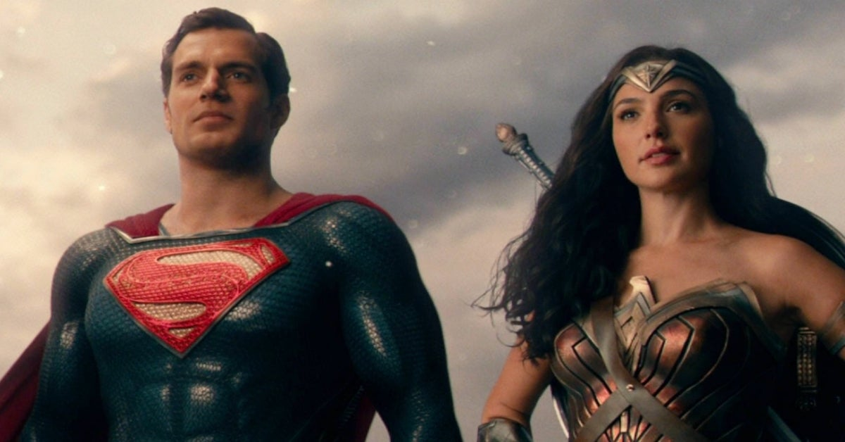 Wonder Woman Gal Gadot Superman Henry Cavill