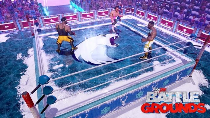 WWE-2K-Battlegrounds-Winter-Bear-Arena