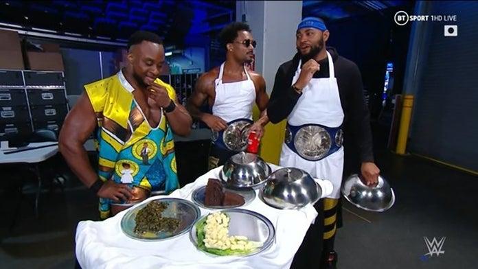 WWE-Montez-Ford-Big-E-L-Food
