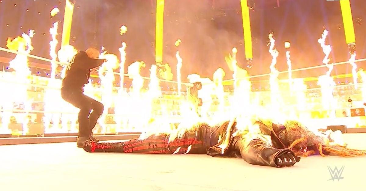 WWE-Randy-Orton-Sets-Bray-Wyatt-on-Fire-TLC