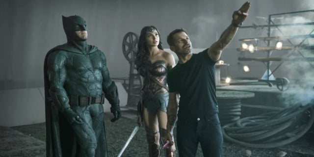 Zack Snyder Justice League Wonder Woman Batman Gal Gadot Ben Affleck