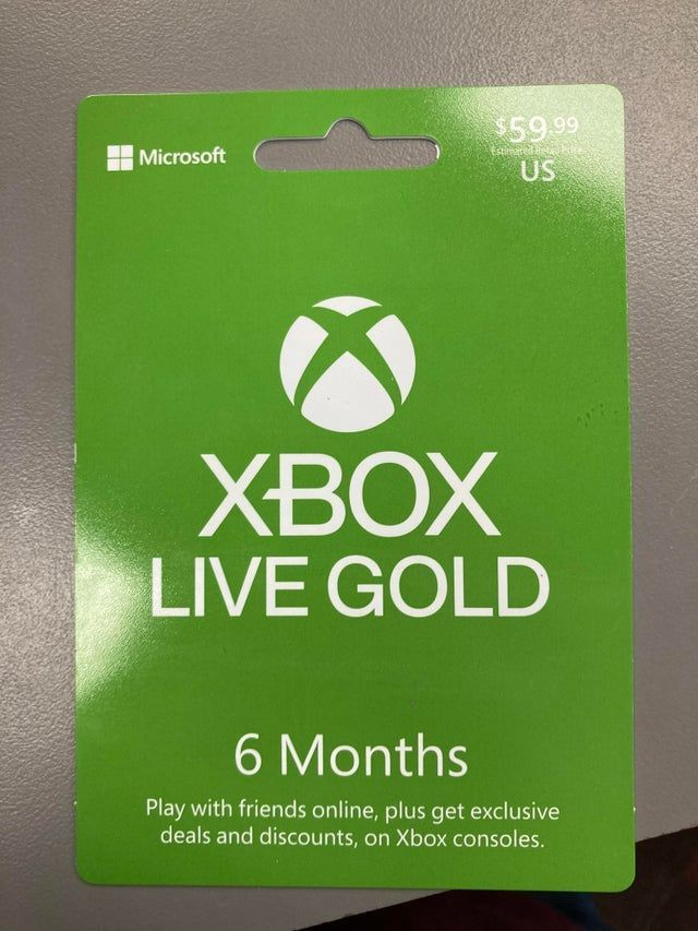 Xbox Live Gold Reportedly Getting Massive Price Increase