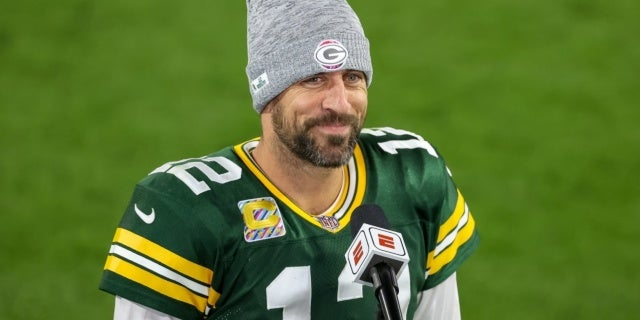 aaron rodgers getty images