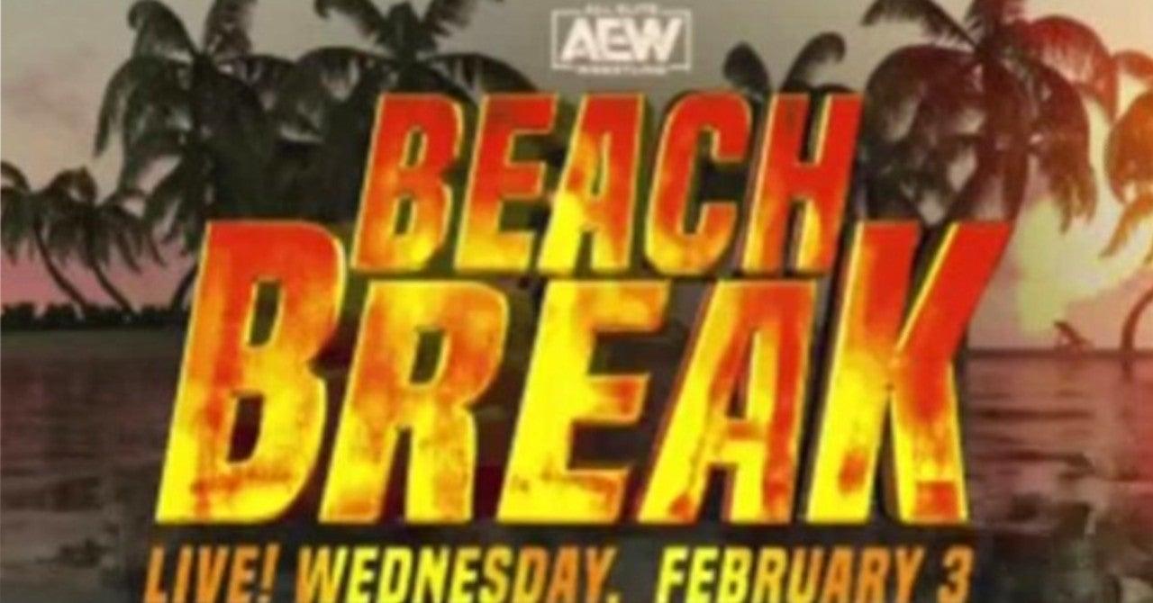 AEW Beach Break Main Event Announced