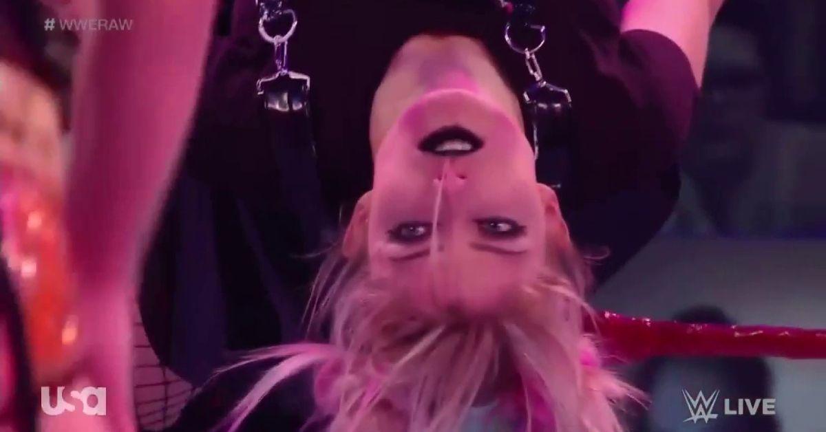 Alexa Bliss Transforms The Fiend Sister Abigail WWE Raw